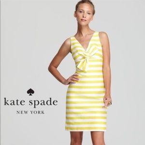 Kate Spade yellow stripe dress size 6!